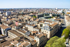 Cityscape of Bordeaux, France Stock Photos