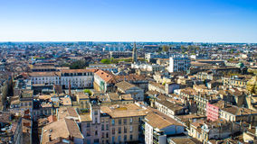 Cityscape of Bordeaux, France Stock Images