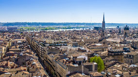 Cityscape of Bordeaux, France Royalty Free Stock Images
