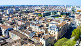 Cityscape of Bordeaux in France Royalty Free Stock Photography