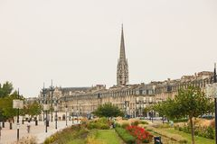 Cityscape of Bordeaux Royalty Free Stock Image