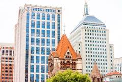 Cityscape in Boston Stock Photo