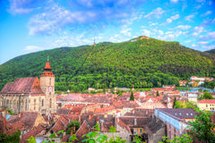 Cityscape Brasov Royalty Free Stock Photography