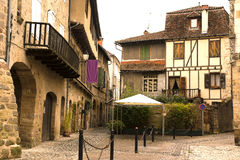 Cityscape of Beaulieu-sur-Dordogna France Royalty Free Stock Photo