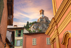 Cityscape of Brisighella, Emilia Romagna, Italy Stock Photo