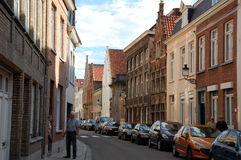 Cityscape of Bruges, Belgium Stock Photo