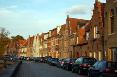 Cityscape of Bruges, Belgium Royalty Free Stock Photos