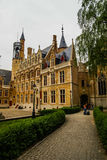 Cityscape at Brugge in Belgium Royalty Free Stock Image