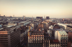 Cityscape of Brussels. Stock Image
