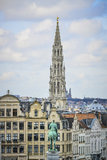 Cityscape of brussels Stock Photos