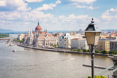 Cityscape of Buda in Budapest, Hungary Stock Image