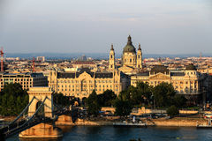 Cityscape of Budapest, Hungary Stock Photography