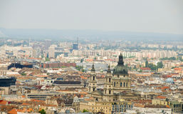 Cityscape  Budapest St. Stephen's Cathedral Royalty Free Stock Photography