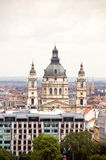 Cityscape  Budapest St. Stephen's Cathedral Royalty Free Stock Photo