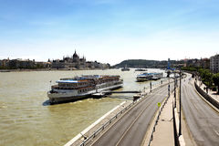 Cityscape of Budapest in summer time Stock Photography