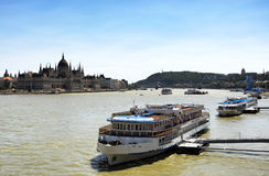 Cityscape of Budapest in summer time Royalty Free Stock Photo