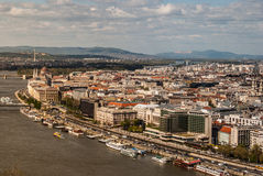 Cityscape of Budapest Royalty Free Stock Photo