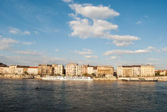 Cityscape of Budapest Stock Images