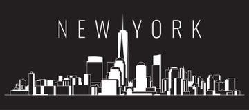 Cityscape Building Creative Skyline art Vector Illustration design - New york city vector illustration