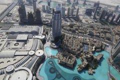 Cityscape of buildings in Dubai Royalty Free Stock Photos