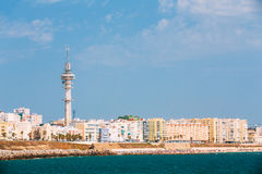 Cityscape of Cadiz town in southern Spain Royalty Free Stock Photo