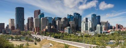 Cityscape of Calgary Royalty Free Stock Photography