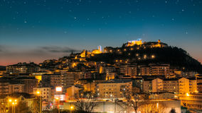 Cityscape of Campobasso Royalty Free Stock Photos