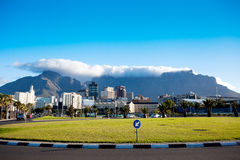 Cityscape of Cape Town Royalty Free Stock Image