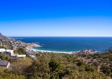 Cityscape of Cape Town at the Western Cape in South Africa. In summer royalty free stock photos