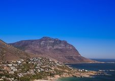 Cityscape of Cape Town at the Western Cape in South Africa. In summer stock photo