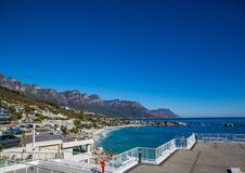 Cityscape of Cape Town at the Western Cape in South Africa. In summer stock image