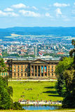 Cityscape with Castle in Kassel, Germany Royalty Free Stock Image