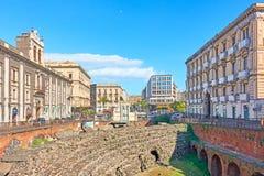 Cityscape of Catania