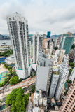 Cityscape Causeway Bay Hong Kong Royalty Free Stock Photo