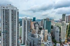 Cityscape Causeway Bay Hong Kong Stock Image