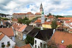 Cityscape of  Cesky Krumlov Stock Images