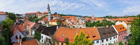 Cityscape of Cesky Krumlov in Czech Republic Stock Images