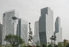 Cityscape in chengdu,china Stock Photography