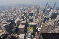 Cityscape of Chicago Stock Photography