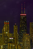 Cityscape of Chicago Illinois Royalty Free Stock Photo