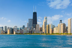 Cityscape of Chicago Stock Photos