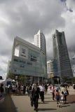 Cityscape.City японии Токио. Взгляд на городе стоковое изображение rf