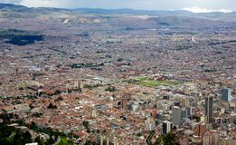 Cityscape of the city of Bogota Colombia Stock Photo