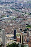 Cityscape of the city of Bogota Colombia Stock Photos