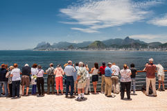 Cityscape of the city of Rio de Janeiro, Brazil Royalty Free Stock Photography