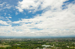 Cityscape and cloudy sky in Chiang Mai,Thailand Stock Images