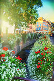 Cityscape of Colmar at summer day. Alsace, France Royalty Free Stock Images