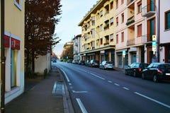 Cityscape in Conegliano Veneto, Treviso Stock Photography