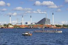 Cityscape of Copenhagen Stock Images