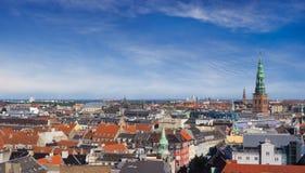 Cityscape of Copenhagen royalty free stock photography